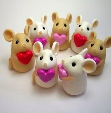 Clay Valentines