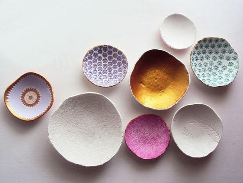 Air Dry Bowls