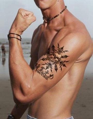 bicep tattoo designs