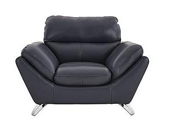 Broad U Arm Chair