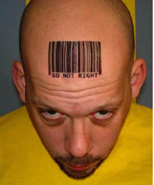 UPC Barcode Tattoos