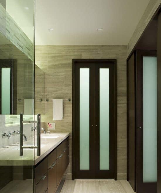 Small Bathroom Door Design