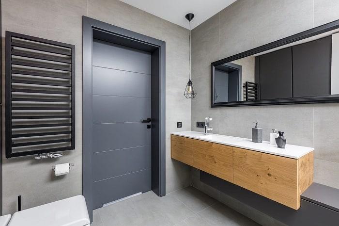 Contemporary Bathroom Doors