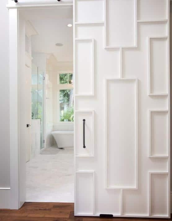 Master Bathroom Door Design