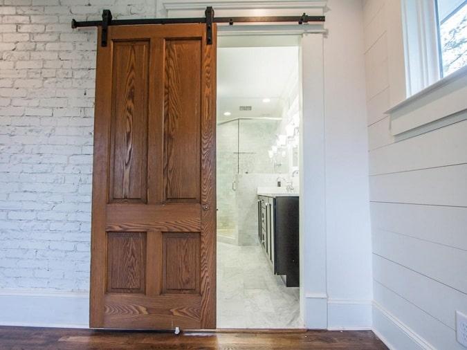 Sliding Bathroom Door