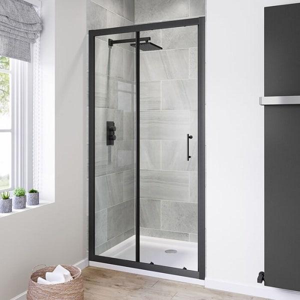 Bathroom Glass Door Design