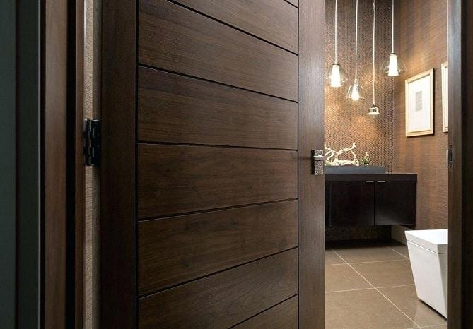 Wooden Bathroom Doors