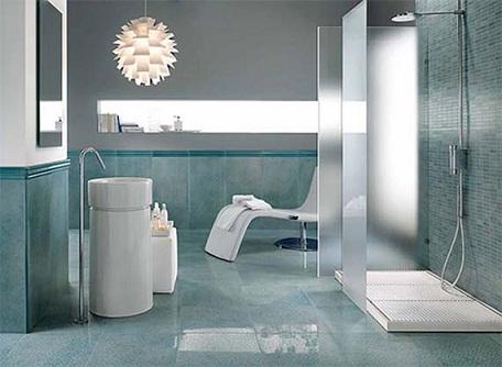 Modern Structure Bathroom Tile