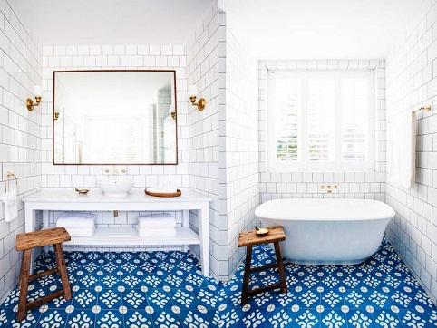 Creative Designed Bathroom Tiles