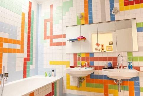Chic Style Bathroom Tile