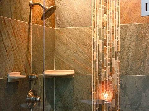 Ceramic Pattern Bathroom Tile