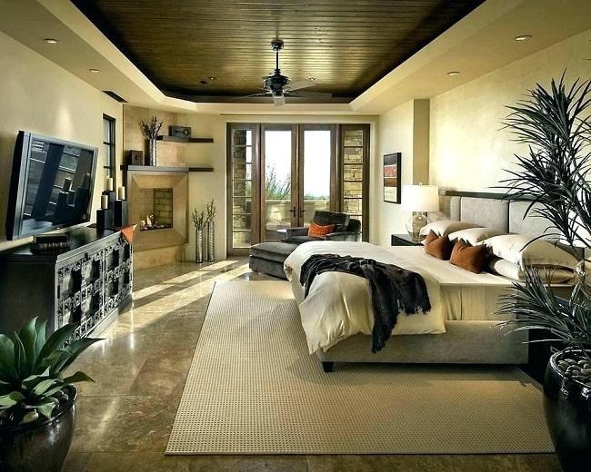 False Ceiling Design for Rectangular Bedroom