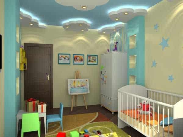 Kids Bedroom False Ceiling