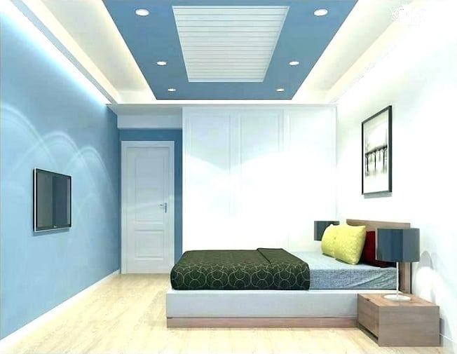 PVC False Ceiling Design for Bedroom