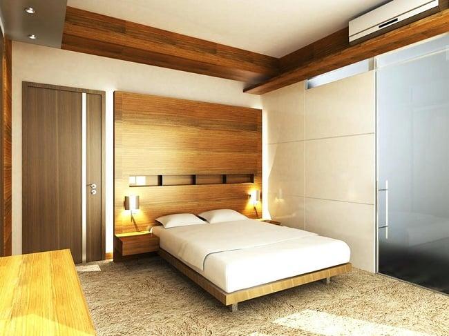 Wooden False Ceiling Designs for Bedroom