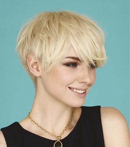 Mushroom Haircut That Looks Like Windblown