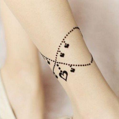 bracelet tattoos for women