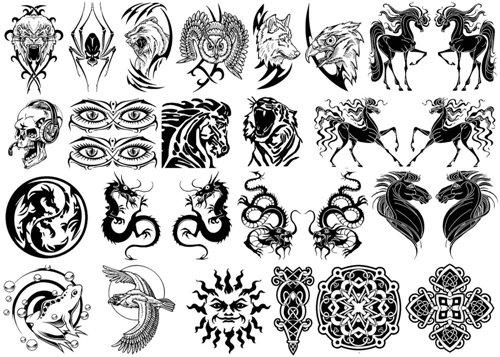 Tribal Bracelet Tattoo Designs