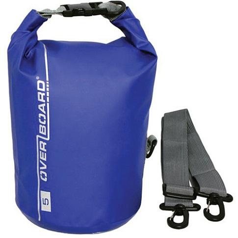 Overboard Waterproof Dry Tube Bag, (5L, Blue) -14