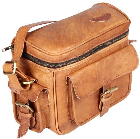 Pranjals House Vintage Handcrafted DSLR Camera Bag Shoulder Bag -7