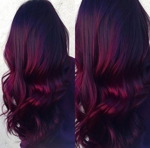 Red Velvet Burgundy
