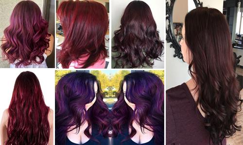Burgundy Hair Color Shades