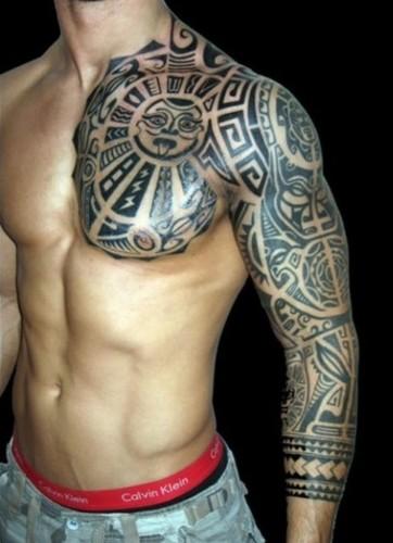 Chest Tattoo Designs 1