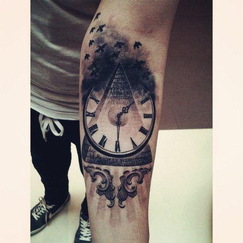 The dark clock