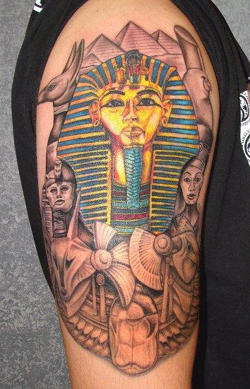 Egyptian tattoo designs 5