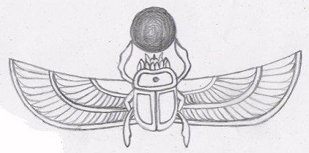 Egyptian tattoo designs 6