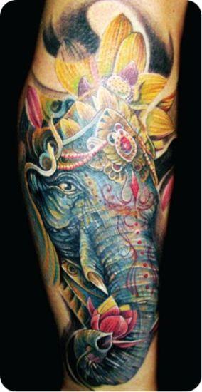 Elephant Tattoo 1