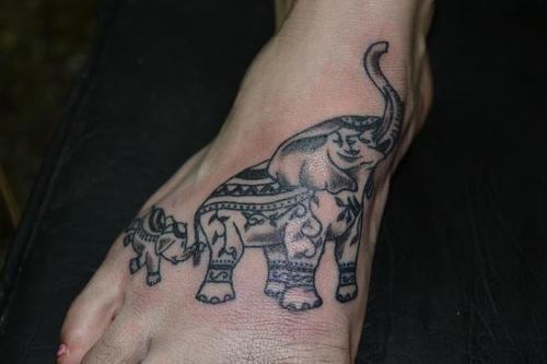 Elephant Tattoo 8