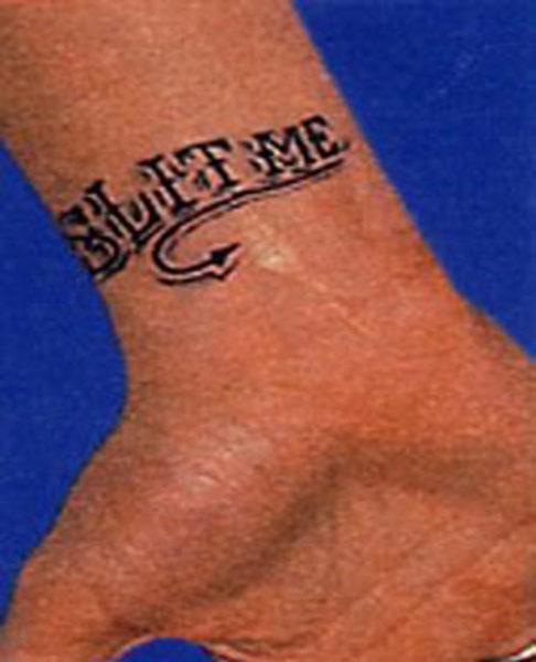 Slit Me Eminem Tattoo