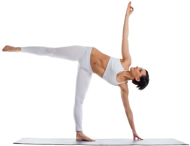 Anusara Yoga Half Moon Pose