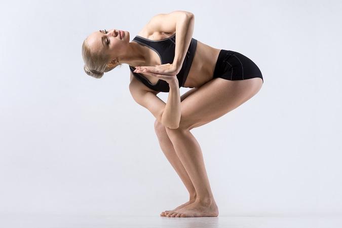 Parivrtta Utkat Asana( Revolved Chair Pose) - exercise to reduce gluteal fat