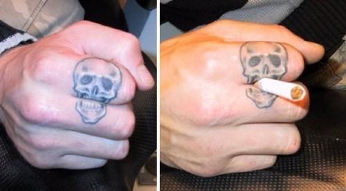 Finger Tattoo designs 7