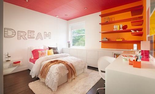 Modern Girl's Bedroom