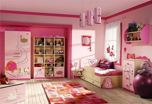 Romantic Bedroom Idea for Girls