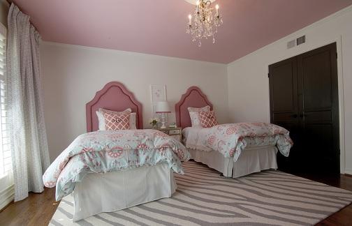 Twin Girl Bedroom Design