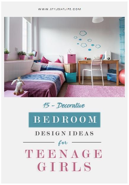 Bedroom Design Ideas For Teenage Girls