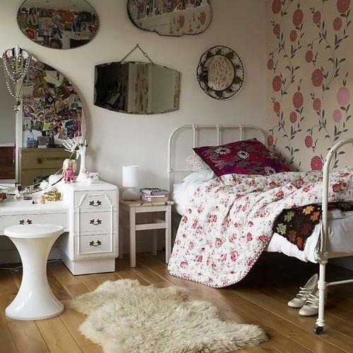 Floral Bedroom for Girls