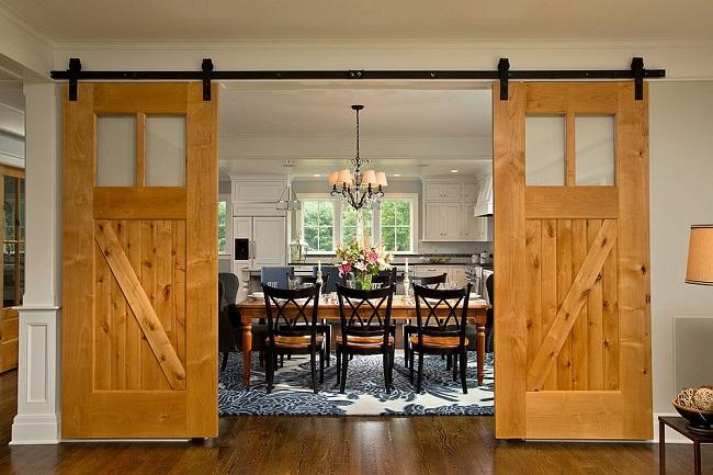 Dining Hall Door Design