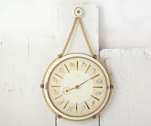 Zodiac Style Hanging Clock