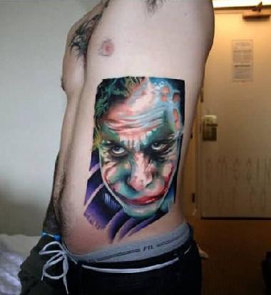 joker-tattoo-designs-serious-face