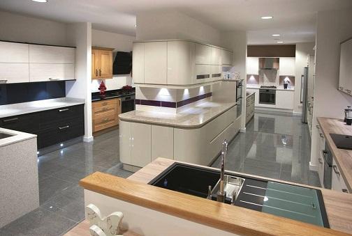 Kitchen furniture inside plan design