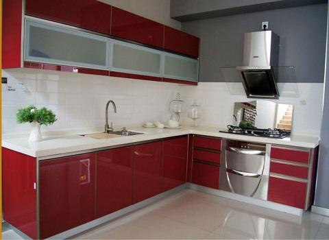 Acrylic modern kitchen furniture designs