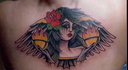 Lady Libra Tattoo