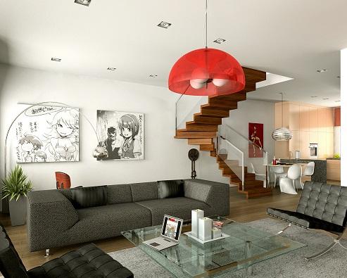 Designer Living Room Décor