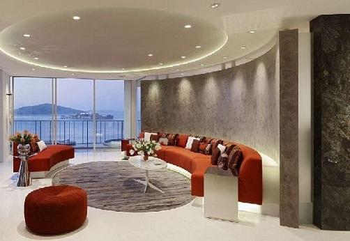 Interior Light Studded Living Room