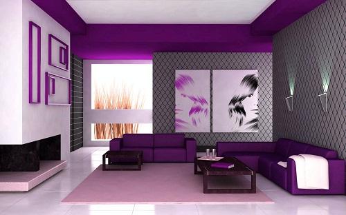 Best velvet colour Living Room Décor